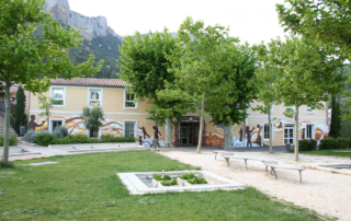 Fresque citoyenne centre de loisir Var Toulon