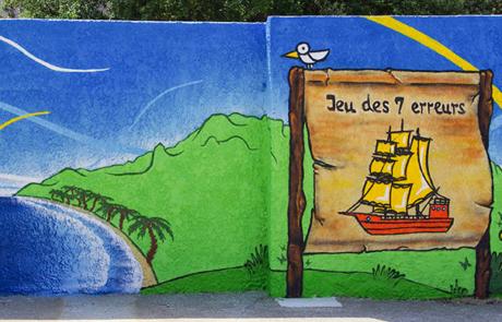 Street Art connecté - Ecole élémentaire Hyères Var 83