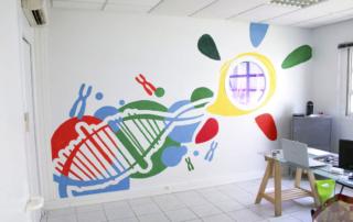 Street Art participatif Toulon Marseille Nice - atelier - Téléthon