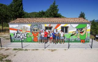 Street Art participatif Toulon Marseille Nice - Foyer loisir jeunesse