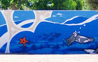 Street Art participatif Toulon Marseille Nice - atelier - École maternelle - La Londe les Maures