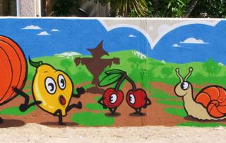 Street Art participatif Toulon Marseille Nice - atelier - École élémentaire - La Londe les Maures Var 83