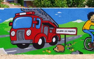 Street Art participatif Toulon Marseille Nice - atelier - École maternelle Var PACA SUD