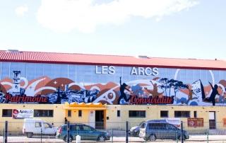 Fresque citoyenne gymnase Var Toulon