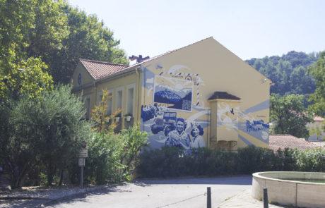 Street Art connecté - VisitGame au Revest les Eaux - Parcours de Fresques interactives