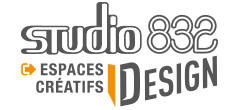 Studio 832 DESIGN Logo